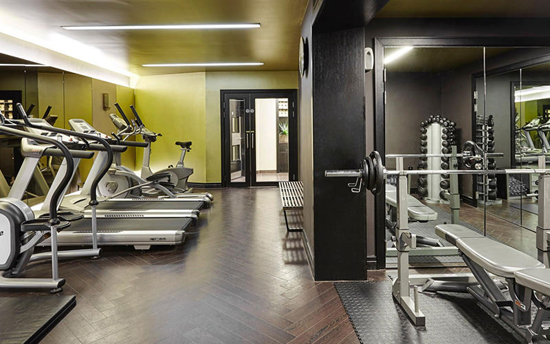 Gym at Crowne Plaza Battersea