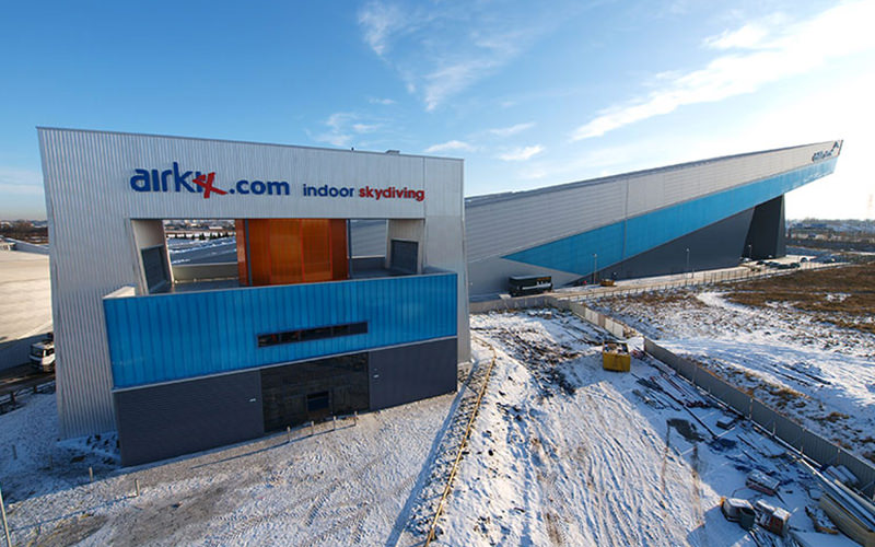 The exterior of Airkix, Manchester, during the day