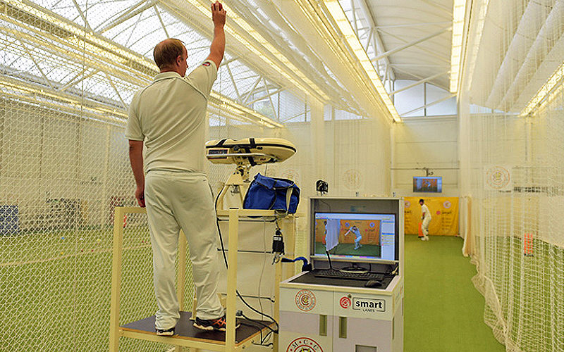 Bowling technology and Hawkeye at Lords Academy