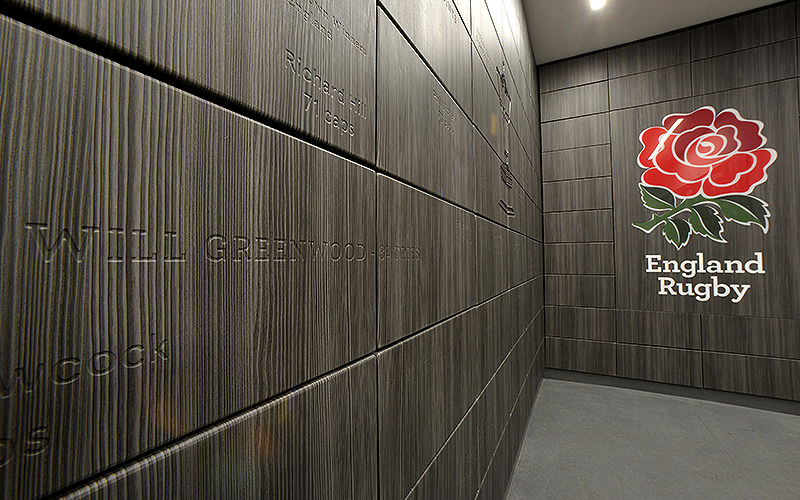 Hall of names at Twickenham Stadium