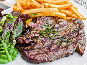 Steak Dinner & Drink