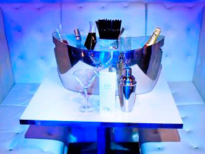 Tiger Tiger - VIP Drinks Table