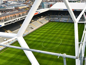 NUFC Roof Top Tour
