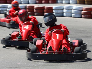 Outdoor Karting - 20 Mins