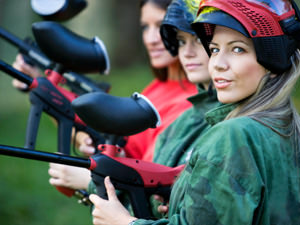 Outdoor Paintball - Full Day Inc 100 Balls