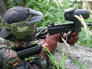 Outdoor Paintball - Half Day Inc 100 Balls