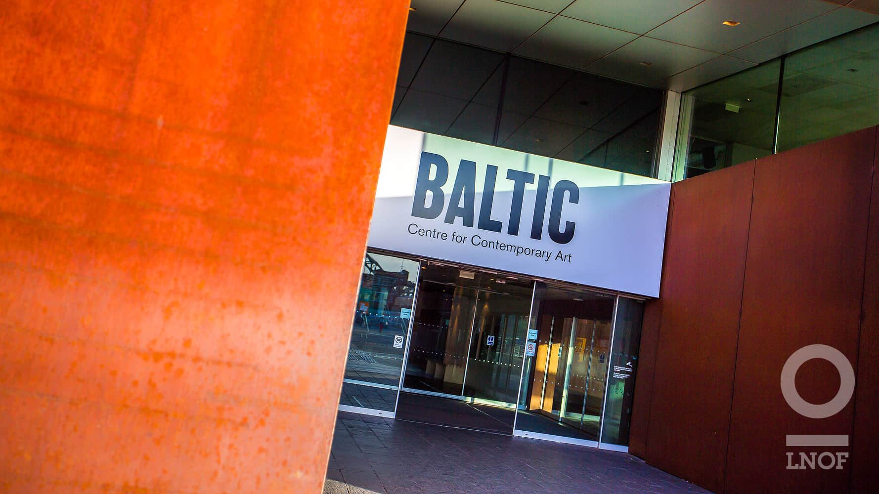 Front door of the BALTIC