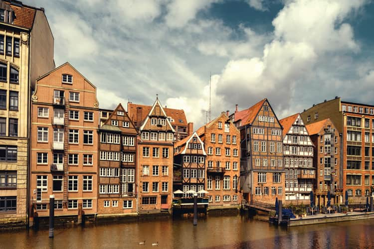 The Warehouse District in Hamburg