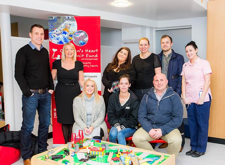 LNOF at the Children's Heart Unit at the Freeman Hospital in Newcastle