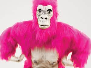LNOF's pink gorilla called Alison