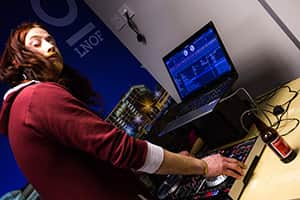 DJ in a onesie