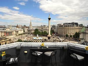 The Trafalgar Rooftop Bar in London
