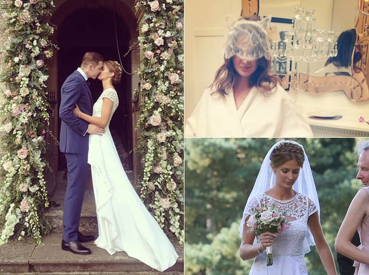 Photos of Millie Mackintosh's wedding day from Instagram