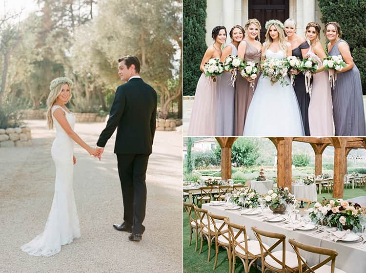 Photos of Ashley Tisdale's wedding day from Instagram