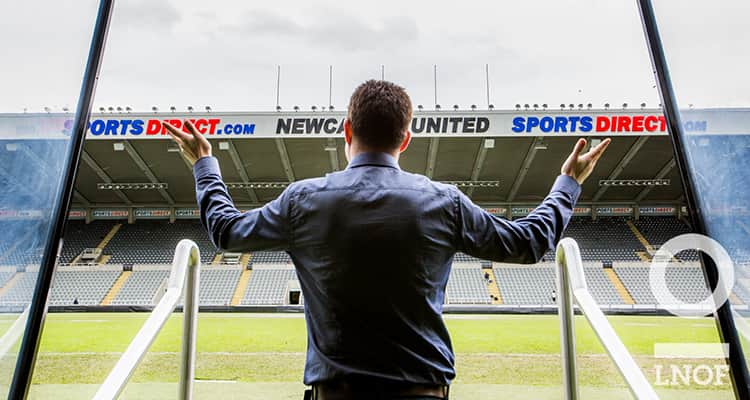 Matt Mavir at St James' Park