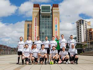LNOF FC team photo by The Baltic