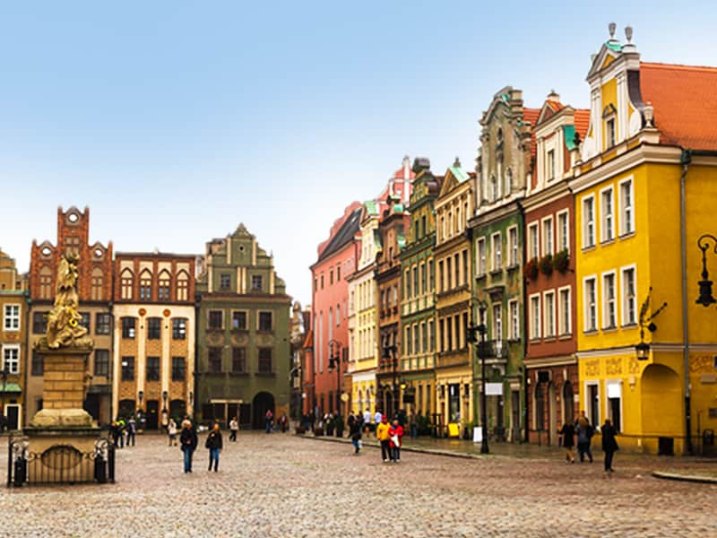 The Old Town in Poznan