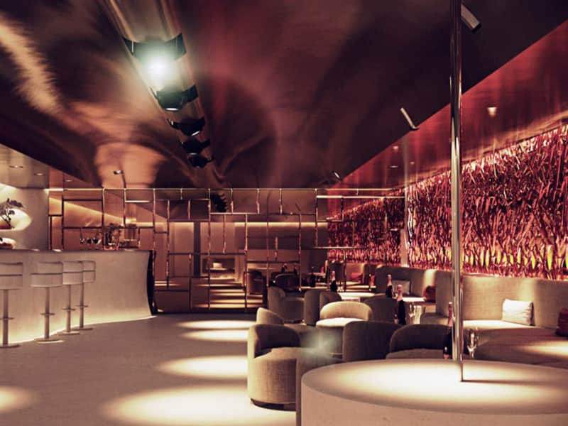 The interior of Pacha nightclub in Poznan
