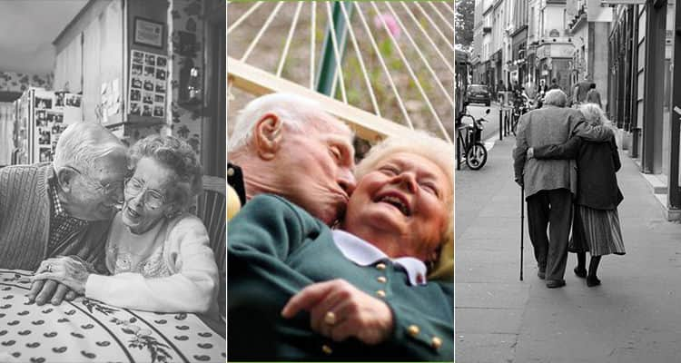 old couple in hammock