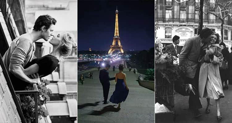 couples in Paris