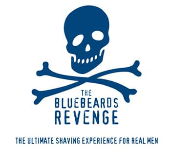 Bluebeards Revenge skull and crossbones logo