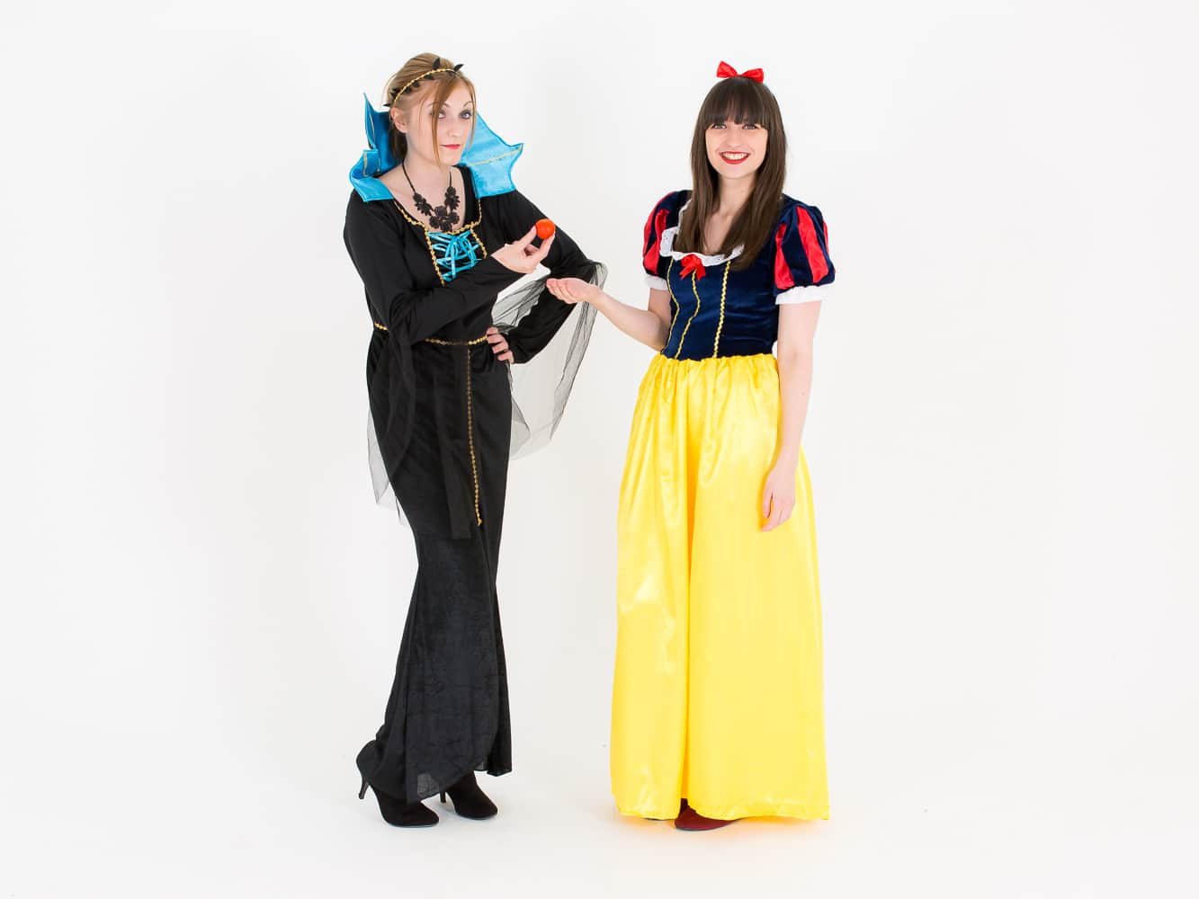 Some of the staff from LNOF dressed up as Snow White and the Evil Queen