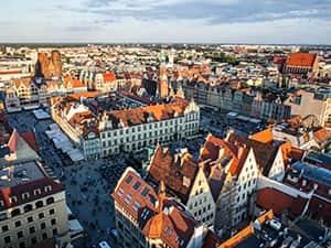 Wroclaw's main square, Rynek