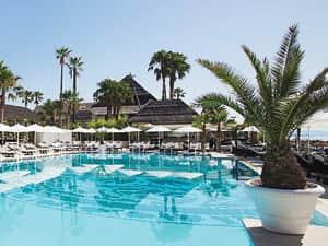 Beach club in Marbella