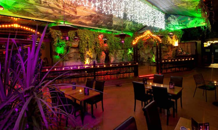 Interiors of Dtwo club in Dublin