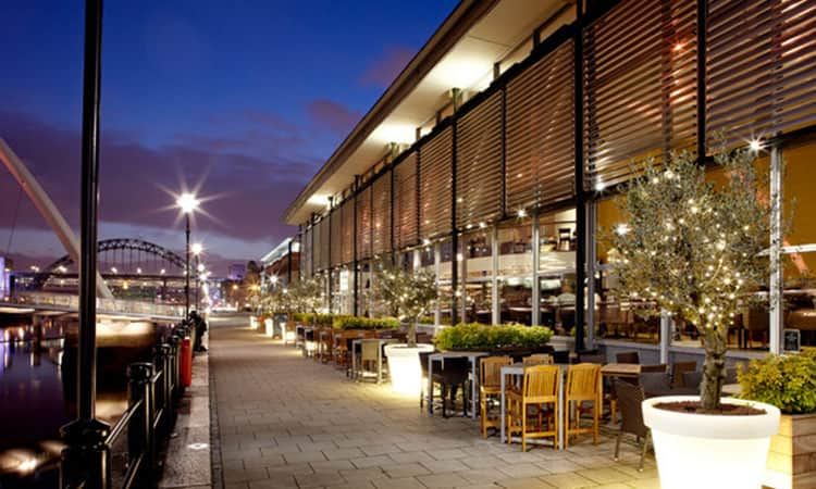 Pitcher and Piano bar on Newcastle's Quayside