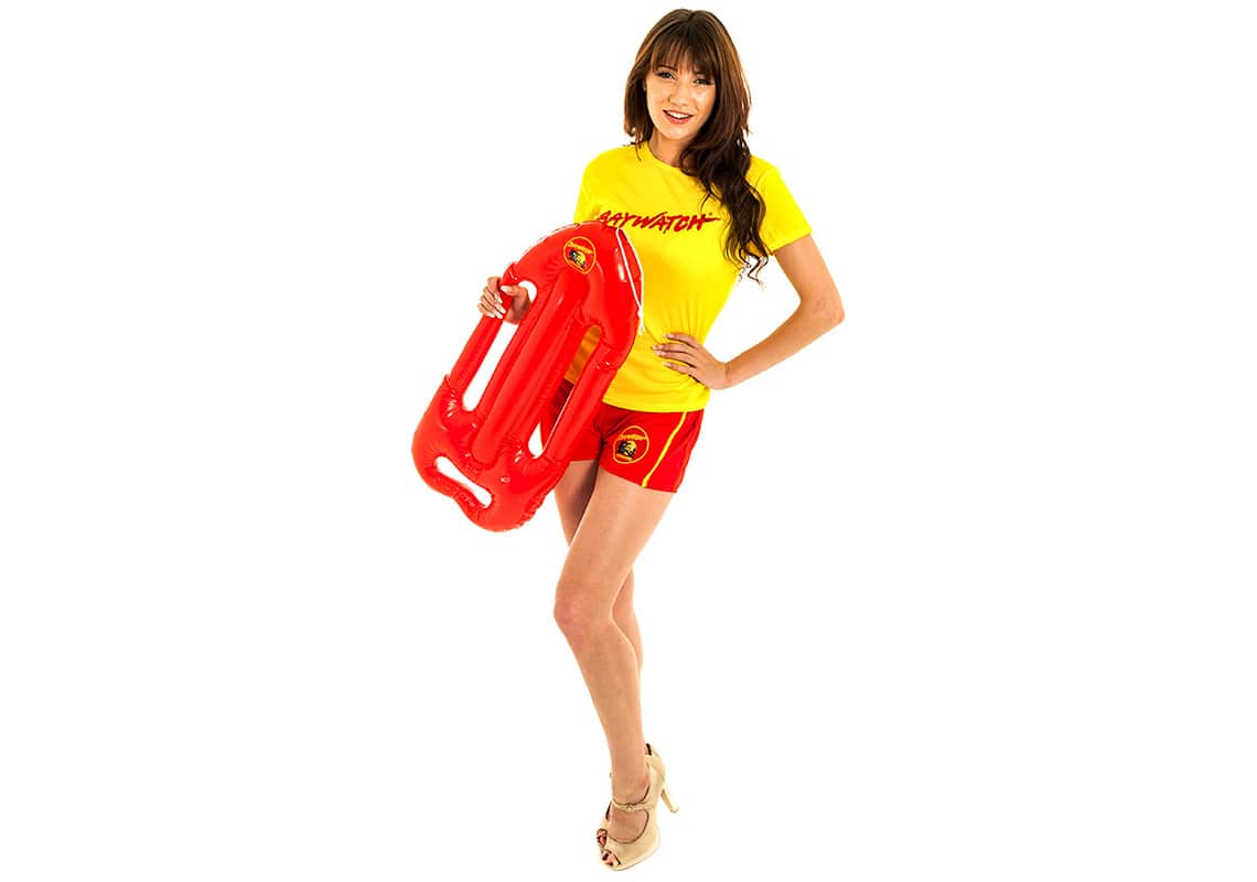 Sexy Baywatch lifeguard