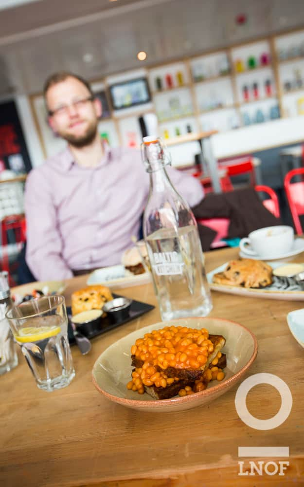 Hangover breakfasts and beans on toast at Baltic Kitchen in Newcastle Gateshead