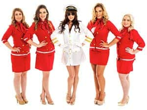 Air Hostess Hen Night Theme