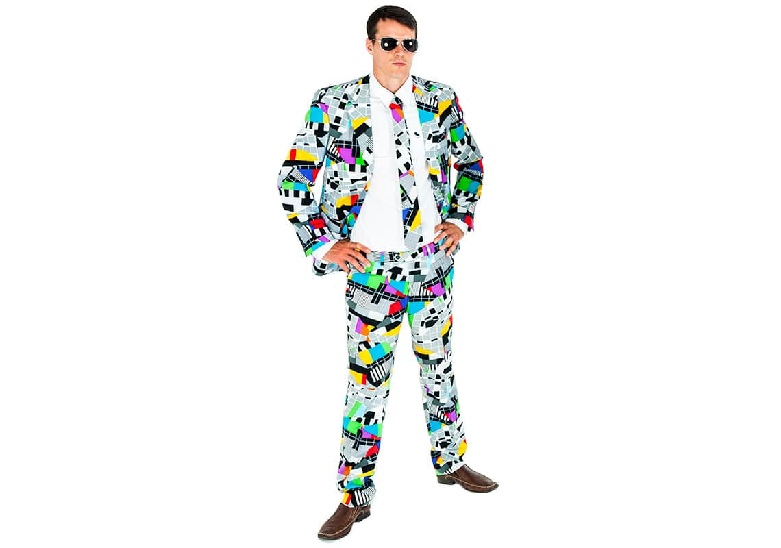 a man wearing a Testival Opposuit