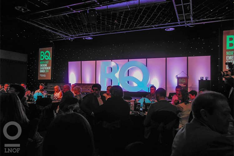 BQ Awards Stage