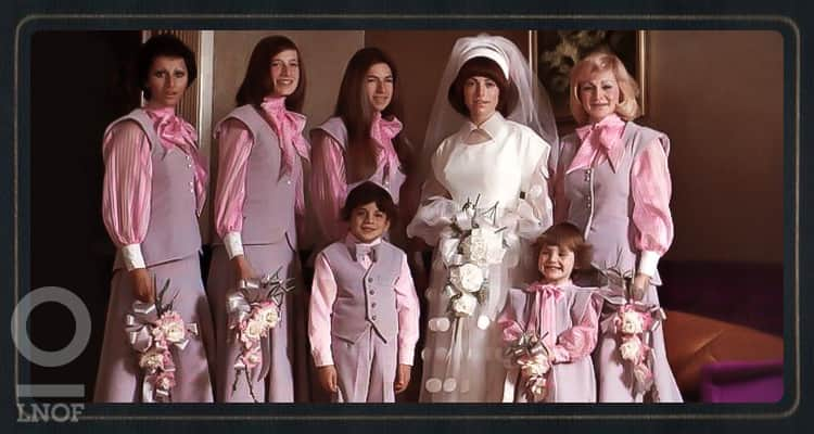 The worlds worst bridesmaid dresses last night of freedom 1970s bridesmaids in suits junglespirit Gallery