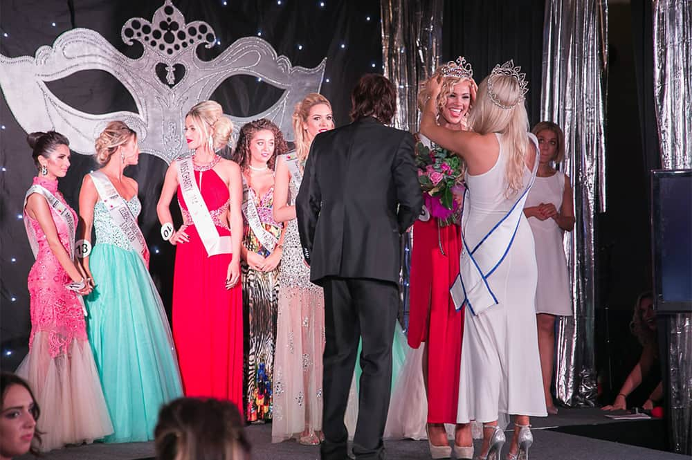 Winner of Miss Newcastle and runners up