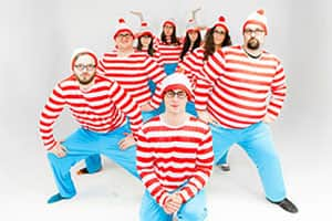 Organised Where's Wally photograph