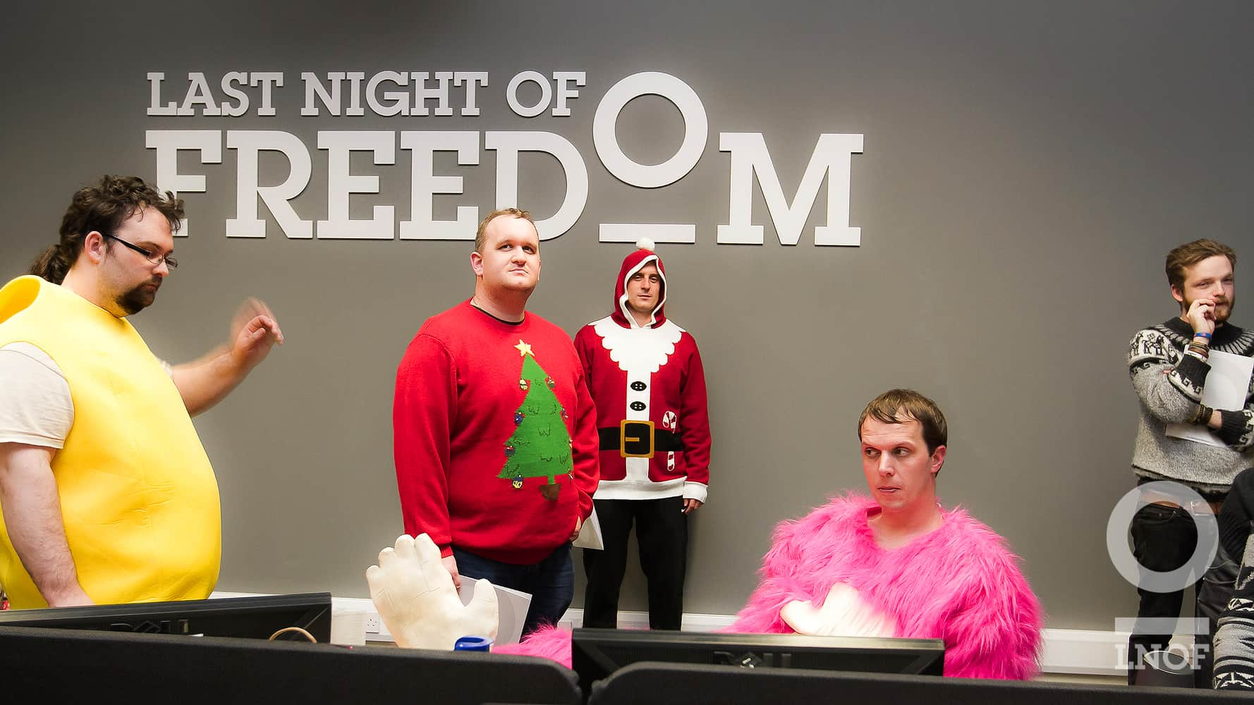 Last Night Of Freedom Login: The 12 Days Of Christmas With LNOF