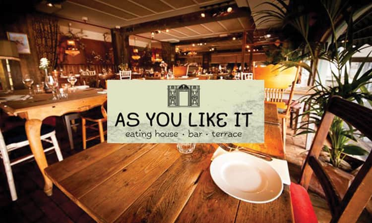 As You Like It restaurant and Logo
