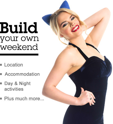 Build your own hen weekend