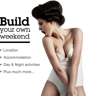 Build your own stag weekend