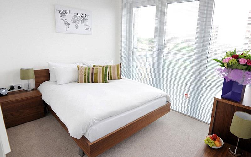 Limehouse City Docklands Bedroom