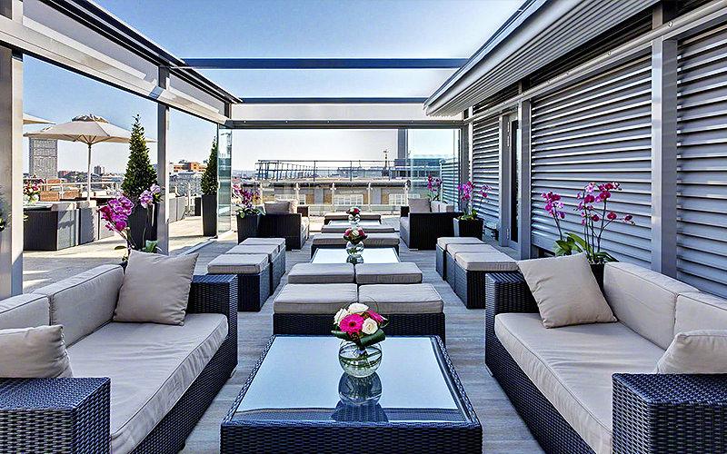 Skybar at the Grange St. Pauls hotel, London