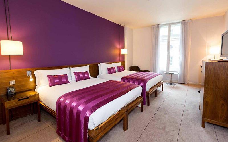 The Trafalgar Hotel Bedroom