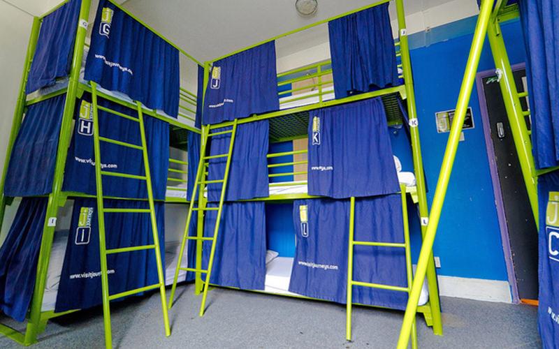 Journeys Hostel Dorm Room
