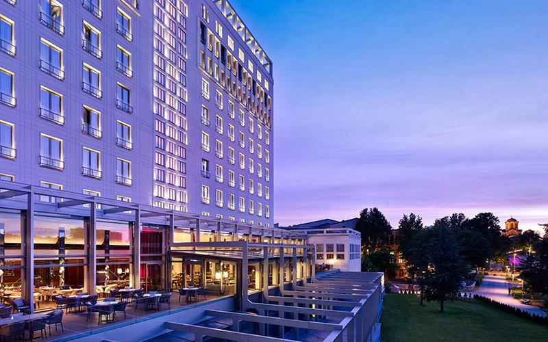 Metropol Palace hotel exterior