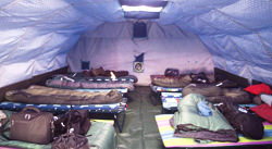 Barneo Base Camp Beds