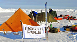 Expedition Tent at the North Pole