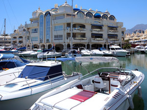 A selection of yachts in the harbour